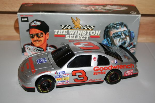 1995 Action 1/24 #3 GM Goodwrench SILVER Chevy MC Dale Earnhardt BWB