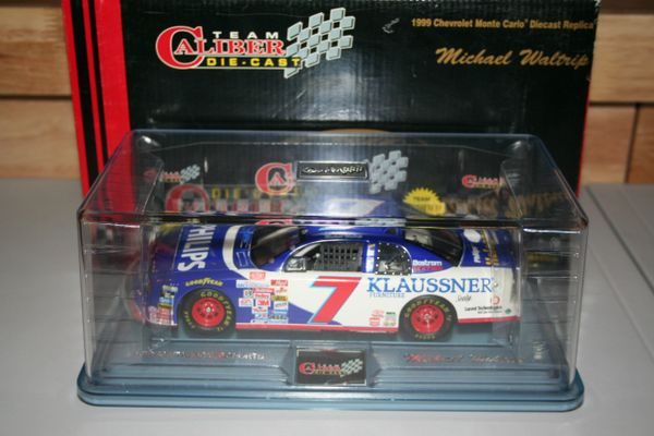1999 TC 1/24 #7 Philips Klaussner Chevy MC Michael Waltrip CWC