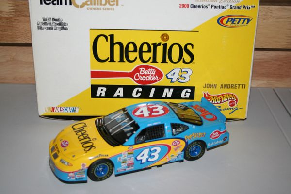 2000 TCO 1/24 #43 Cheerios Betty Crocker Pontiac GP John Andretti CWC