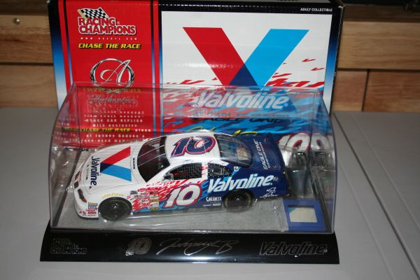 2001 RC Authentics 1/24 #10 Valvoline Pontiac GP Johnny Benson CWC
