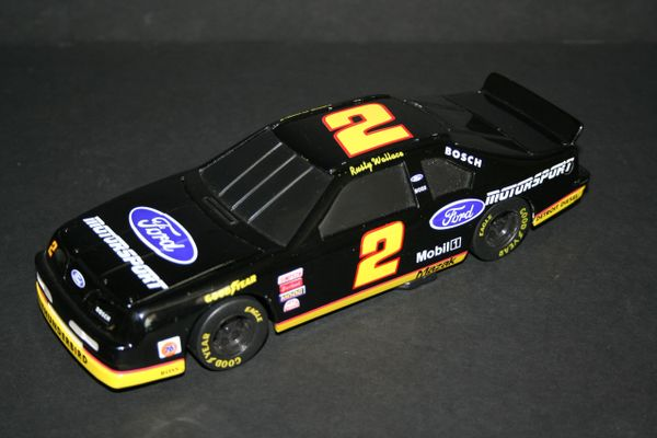 1994 Action 1/24 #2 Ford Motorsport black Ford Tbird Rusty Wallace BWB LOOSE
