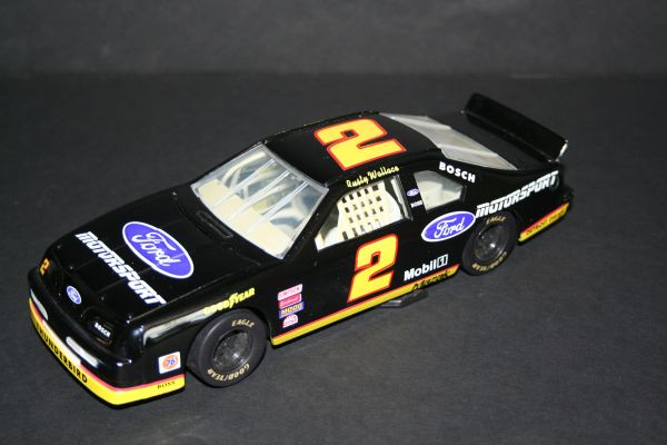 1994 Action AP 1/24 #2 Ford Motorsport black Ford Tbird Rusty Wallace CWC LOOSE