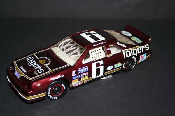 1995 RCCA 1/24 #6 Folgers Coffee 1991 Ford Tbird Mark Martin CWC LOOSE