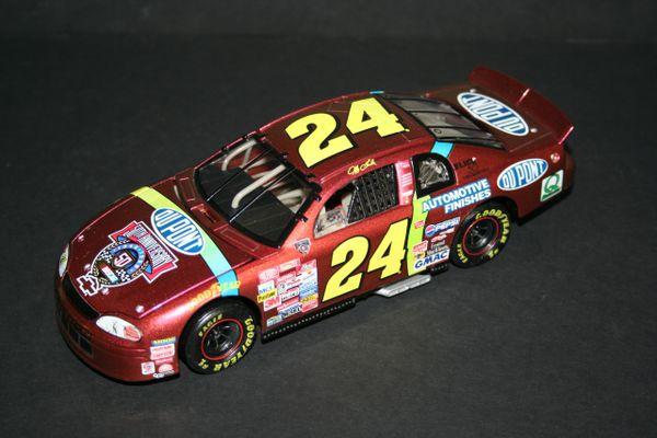 1998 RCCA 1/24 #24 Dupont Chromalusion Chevy MC Jeff Gordon CWB LOOSE