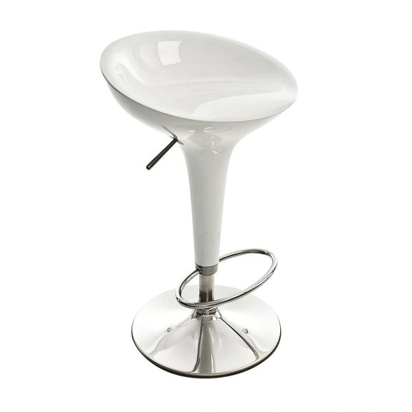 MBTC Kosy LB Bar Stool Chair in White