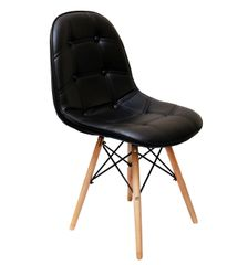 MBTC Taurus Cafeteria Chair in Black