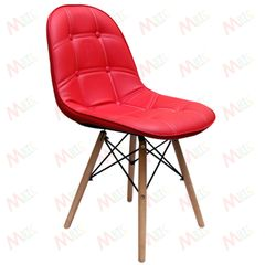 MBTC Taurus Cafeteria Chair in Red