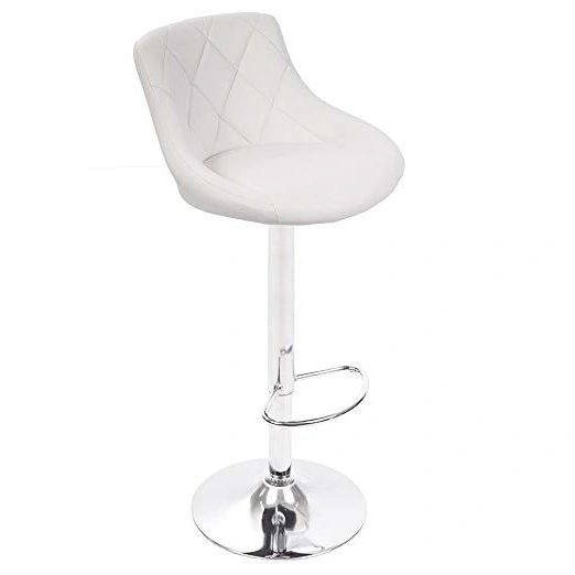 MBTC Kerland Bar, Kitchen, Cafeteria Stool in White