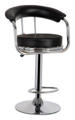 MBTC Magma Cafeteria Bar stool In Black