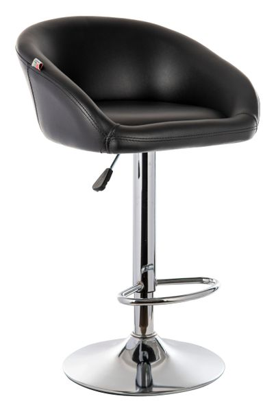 MBTC Judith Office Bar Stool Chair in Black
