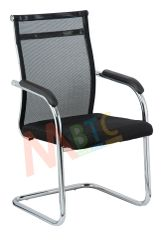 MBTC Tizan Office Executive Visitor Chair in Black