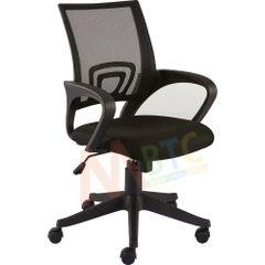 MBTC Flora Office Chair in Black Mesh Net