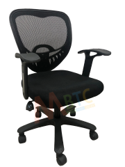 MBTC Deluxxis Office Chair in Black