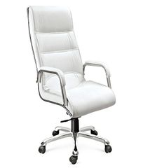 High-line Executive chair in White