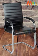 MBTC Octave Office Executive Visitor Chair in Black
