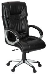 MBTC Estrella Office Executive Director Desk Chair in Black