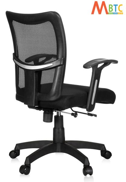 MBTC Brio Mid Back Mesh Office Revolving Desk Chair