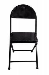 Folding Net Chair Black