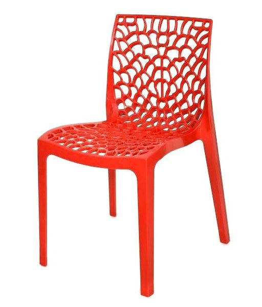 Supreme Web Chair ( Set of 6 pc) Red