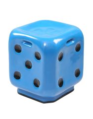 Dice Stool in blue ( set of 4 )