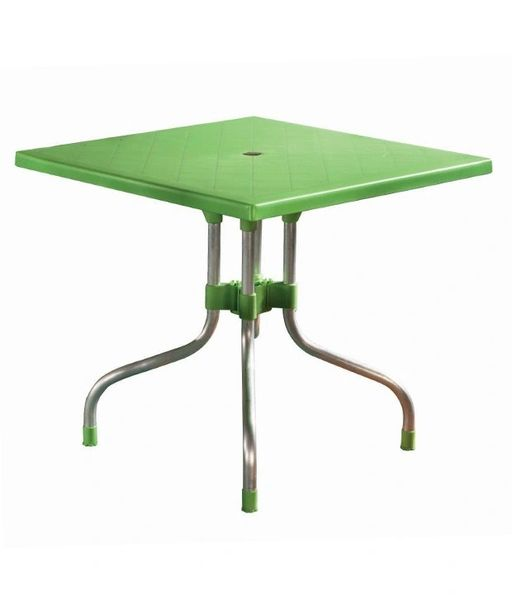 Supreme Olive Foldable Dining Table - Green