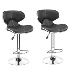 MBTC Horse Bar stool In black ( Set of 2 pc)