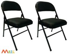 MBTC Clark Seat and Back Cushion Folding Chair ( set of 2 )