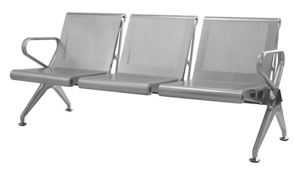 Three Seater Airport Sofa (Powder Coated)