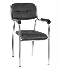 Visitor Office chair in Black
