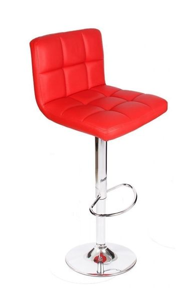 MBTC Cadbury Kitchen Cafeteria Bar Stool Chair in Red