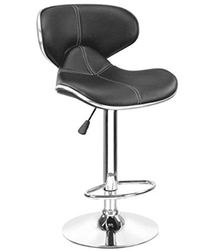 MBTC Horse Cafeteria Bar Stool Chair In Black