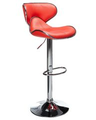 MBTC Horse Cafeteria Bar Stool Chair In Red