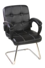 MBTC Fieron Visitor Chair in Black