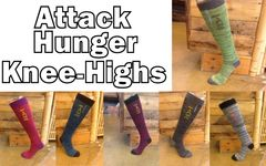 Attack Hunger Knee High Socks