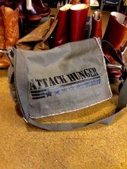 Attack Hunger Canvas Messenger Bag