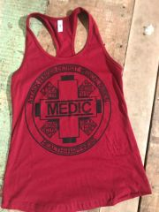 Women's Attack Hunger Medic Division Tank