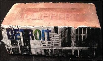 Detroit Clippert slim-line brick