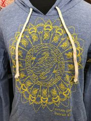 Women's Detroit Sunflower Hoodie