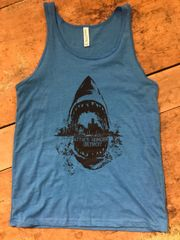 Attack Hunger Unisex Sharkstyle Tank