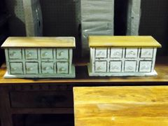 8 Drawer Apothecary, Spice or Jewlery Chest
