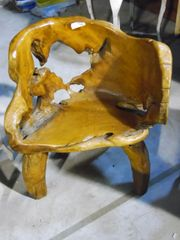 Root Chairs - Teak Wood