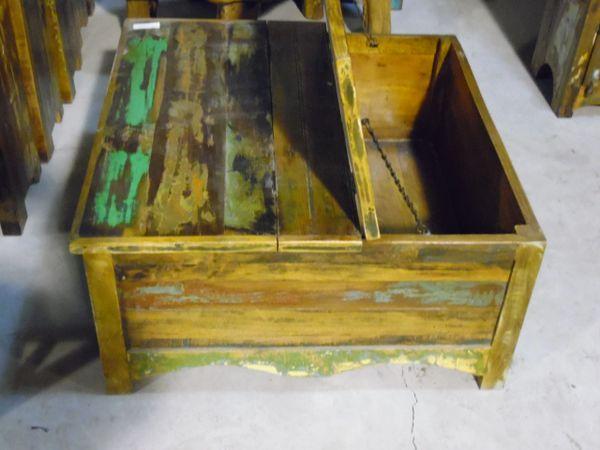 Lift Top Coffee Table - Reclaim Wood