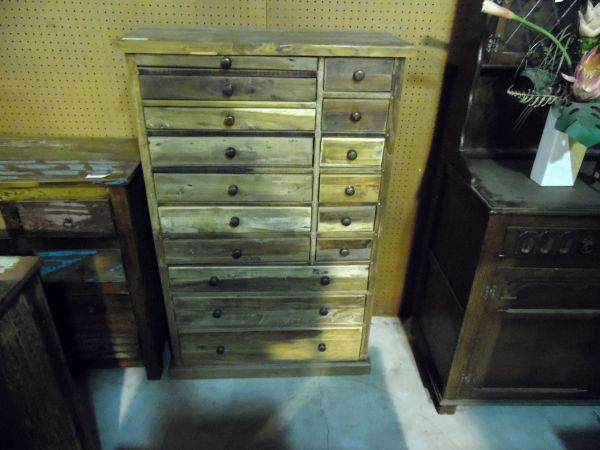 Chest with Multi Size Drawers - Reclaim Wood