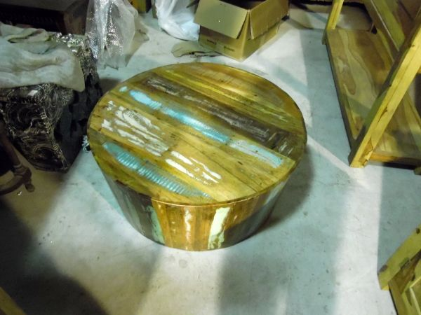 Round Coffee Table - Reclaim Wood