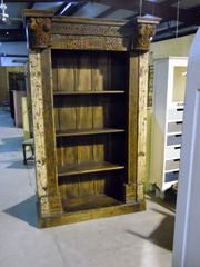 Bookcase wih Carved Door Front