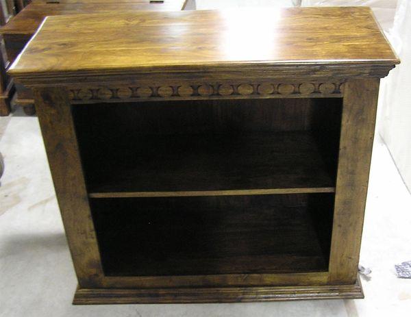 2 Shelf Bookcase - Mango Wood