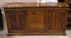 Sideboard or Buffet with 3 Drawers - Mango Wood
