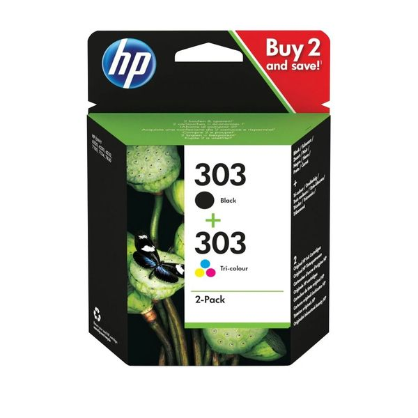 HP Original 303 Black/Colour Combo Pack