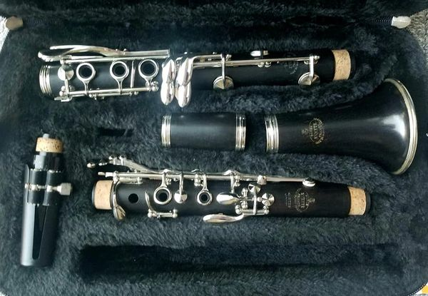 Surprising Refurbished Buffet Crampon Evette Master Model Wood Clarinet In New Case Interior Design Ideas Gresisoteloinfo