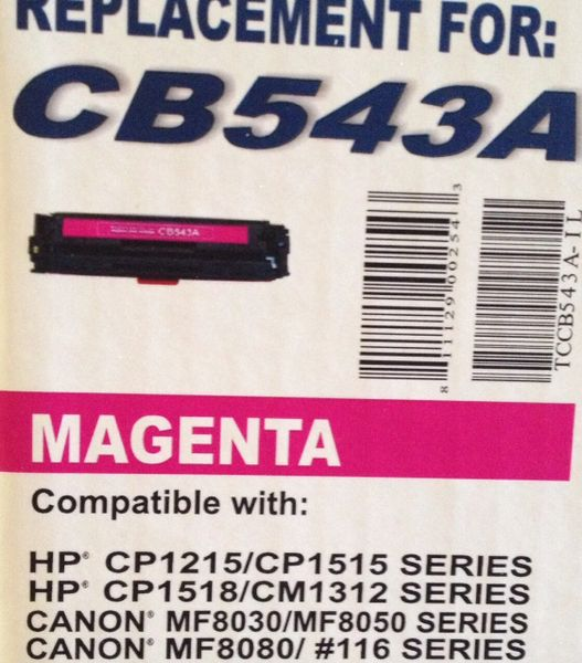 HP CB543A Magenta (543A 125A)